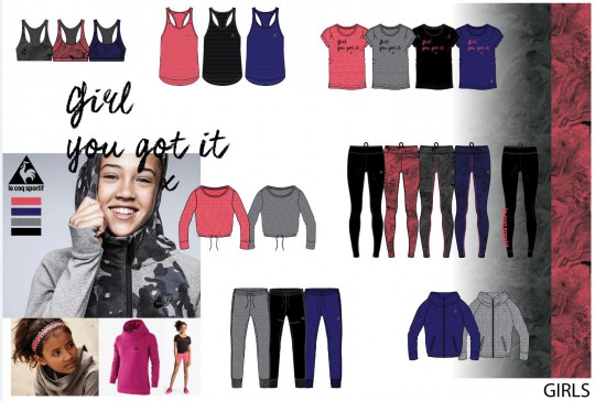 LCS AW16 GIRLS SMALL